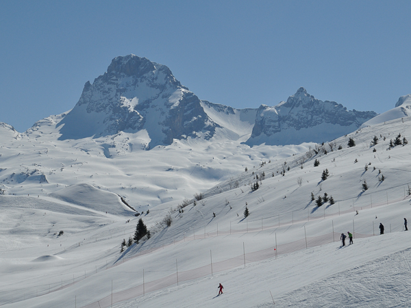 Le Grand Bornand ski resort - France