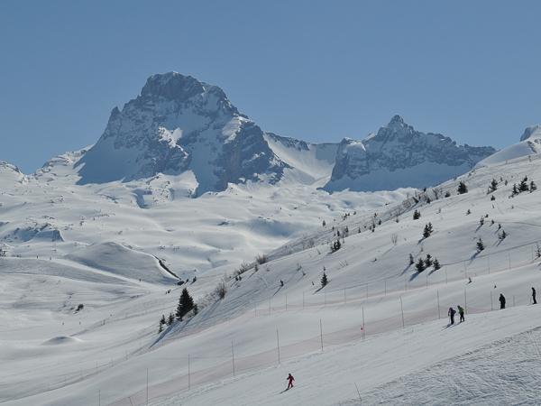 Le Grand Bornand ski resort - France