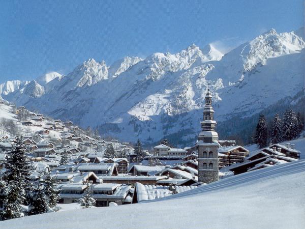 La Clusaz ski resort - France