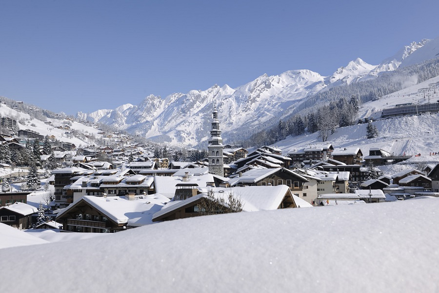 Ski resorts with short transfers from Geneva airport