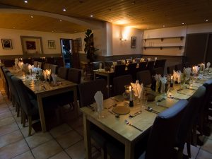 Aravis Lodge Dining Room