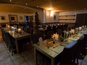 Aravis Lodge Dining Room