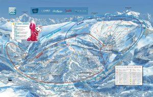 Grand Massif Piste Map