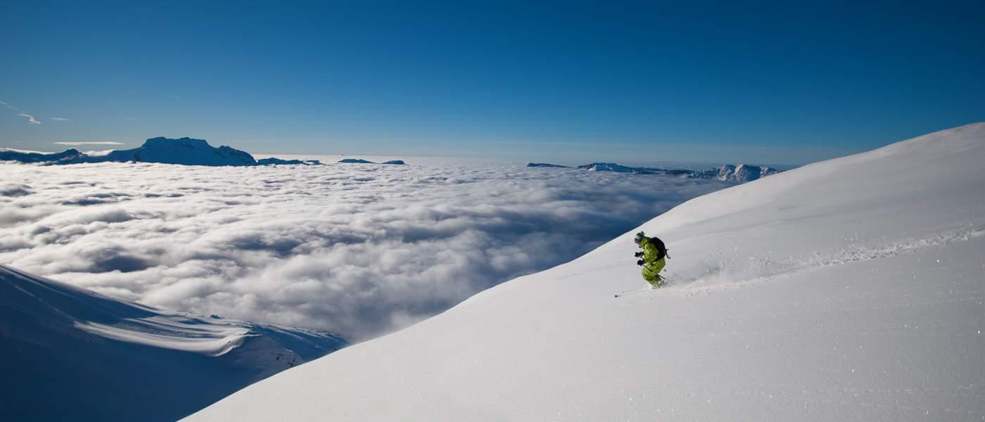 Ski weekends with amazing skiing