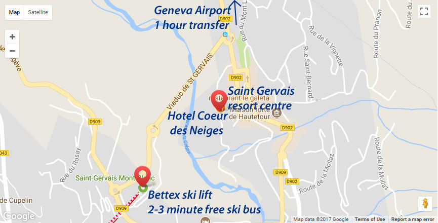 Hotel Coeur des Neiges Location