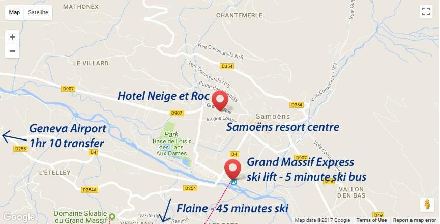 Hotel Neige et Roc Samons Ski Weekender