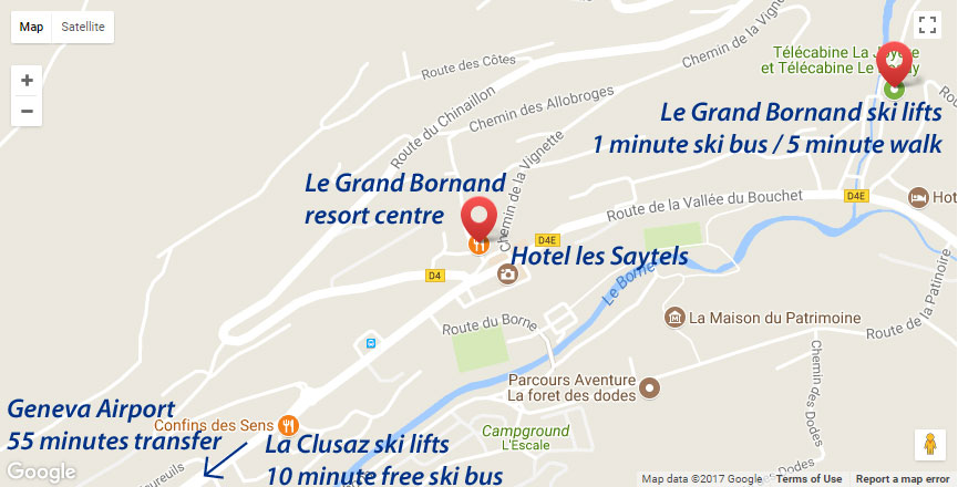 Hotel les Saytels Location