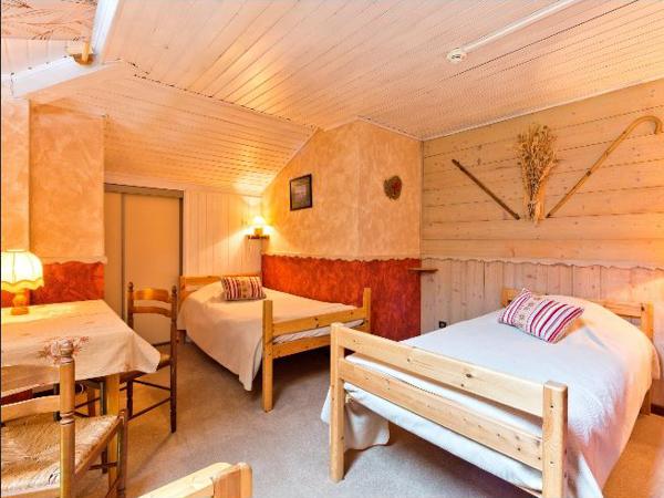 Hotel Boule de Neige Bedroom