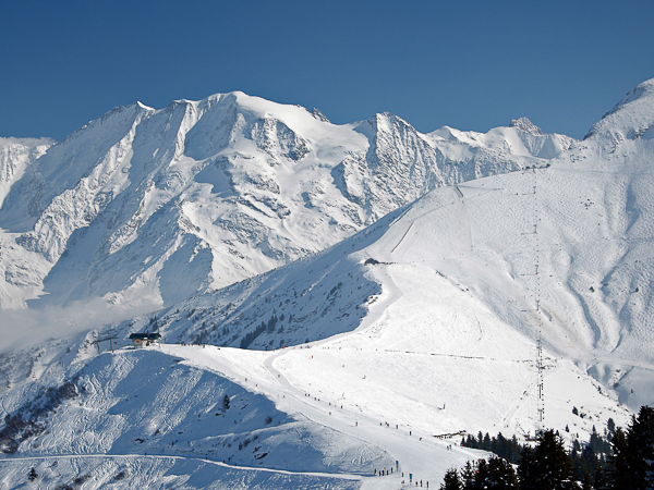 Saint Gervais ski resort - France