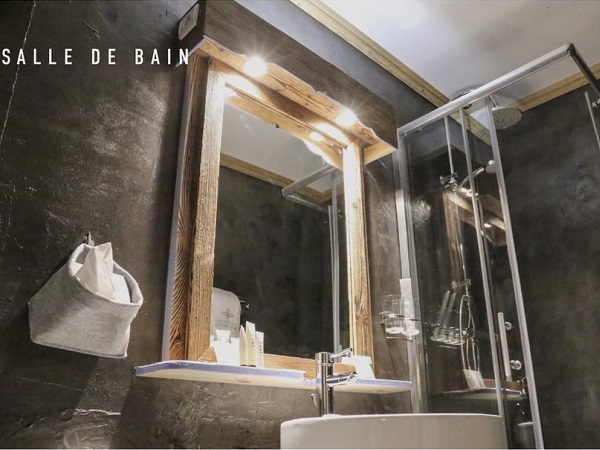 Coeur des Neiges Hotel bathroom
