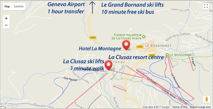 Hotel la Montagne Location