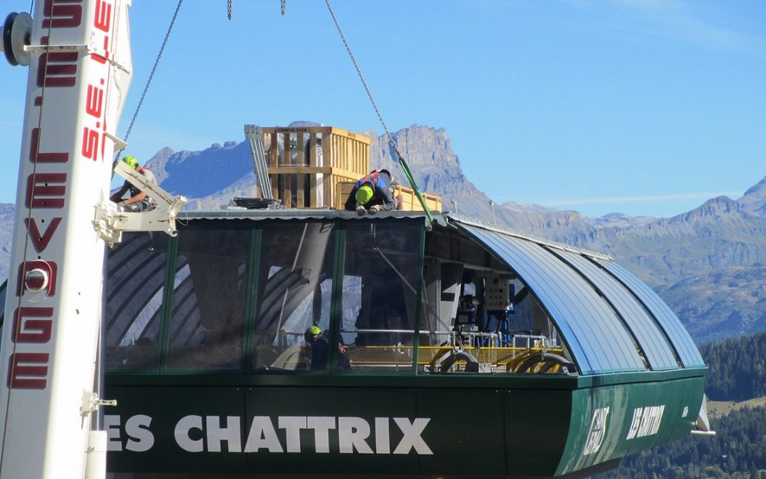 Ski Resort Improvements in the Northern French Alps for Winter 2019 – 2020