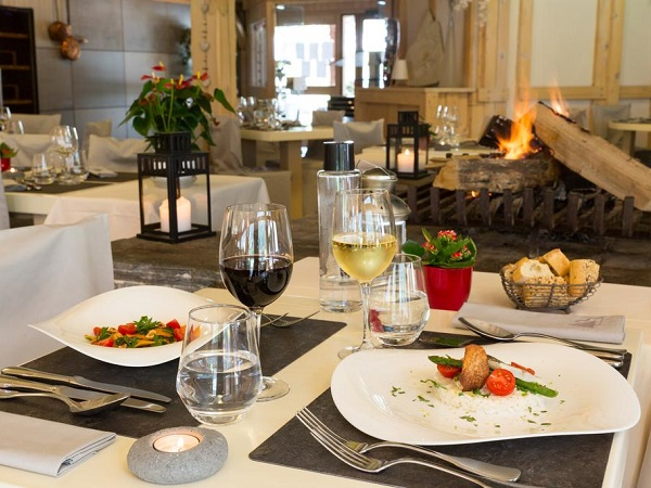 Hotel Chemenaz dinner
